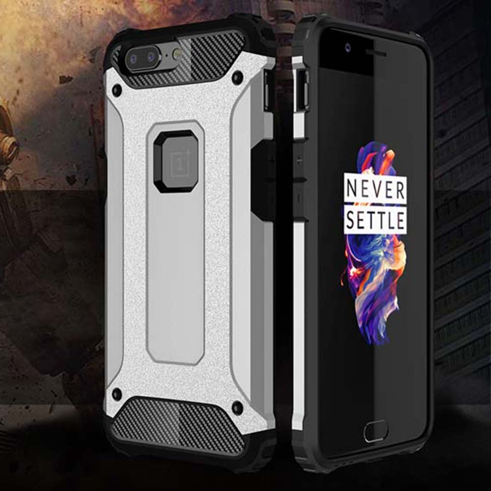 Shockproof Armor Coque Cover <font><b>5</b></font>.5For <font><b>Oneplus</b></font> <font><b>5</b></font> Case For <font><b>Oneplus</b></font> One Plus <font><b>5</b></font> Oneplus5 <font><b>A5000</b></font> Phone Back Coque Cover Case image