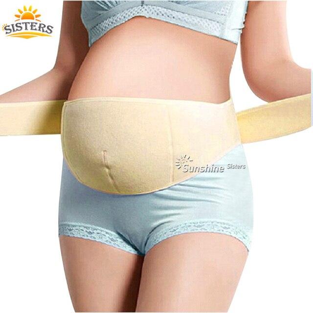 bc438b7e5 Embarazada feto cintura cinturón de maternidad embarazo Abdominal soporte  materna cintura cuidado Prenatal faja proteger feto