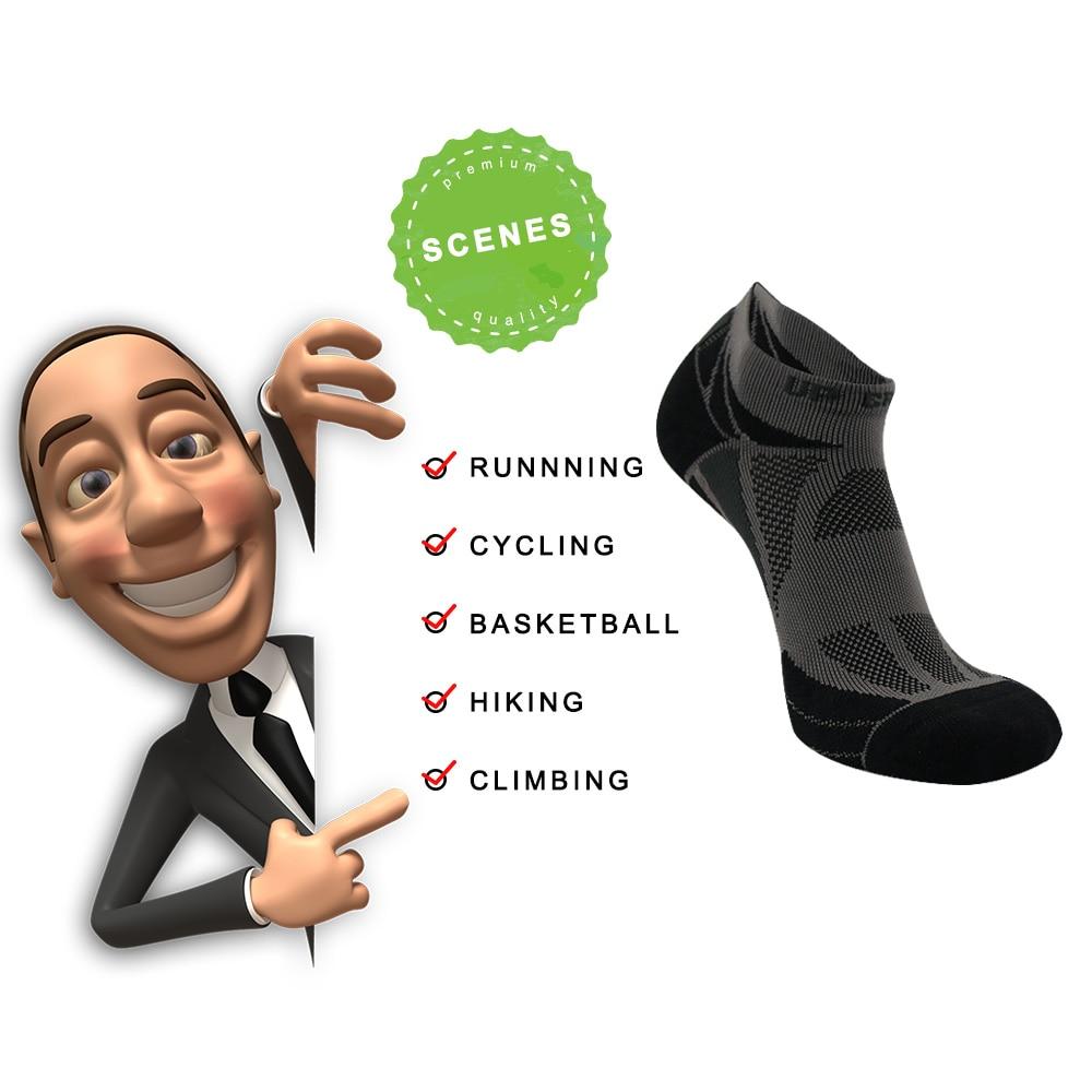 UG Cotton Mænds Running Women Socks Cykling Ridning Cykelcyklus - Sportsbeklædning og tilbehør - Foto 6