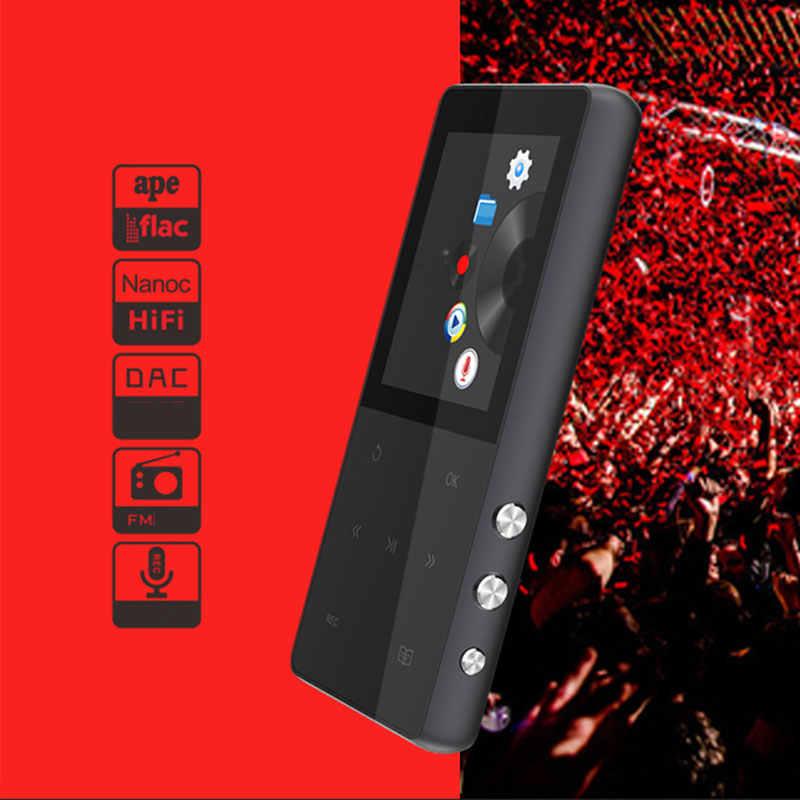 HAOBA Touch Screen MP3 Lettore 8 gb HIFI Lettore Musicale Con Radio FM Recorder eBook Video di TF di Sostegno Card Fino a 64 gb