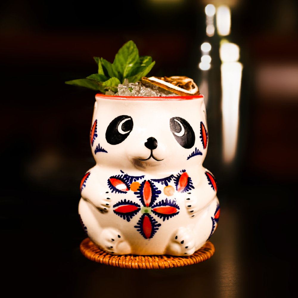 228be0d03 1 Pcs Panda Tiki Mug Barware Cocktail Mugs Beer Wine Cup Art Ceramic Cup  Wine Accessories Ceramic Crafts Bar Tools Cocktail Cup