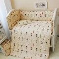 Lavável 120*70 centímetros 10 pcs do bebê crib bedding set, menino & da menina do bebê bumpers para o berço bedding, bebê recém-nascido infantil bedding terno