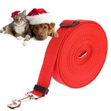 10 м, 15 м, 20 м, 30 м, 50 м, регулируемый тренировочный поводок для собак, домашних животных, щенков, нейлоновый длинный канат, поводок для собак, поводок для собак, товары для домашних животных