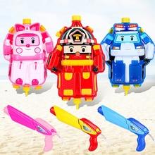 High Pressure Pump Big Water Gun Toys Super Soaker Firing Robotic water gun backpack Outdoor Fun & Sports Game Shooting Kids