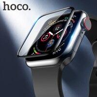 HOCO originele 3D Gebogen Screen Protector voor Apple iWatch 4 Volledige Cover Beschermende Glas voor Apple Horloge Serie 5 40mm 44mm Film-in Smart accessoires van Consumentenelektronica op