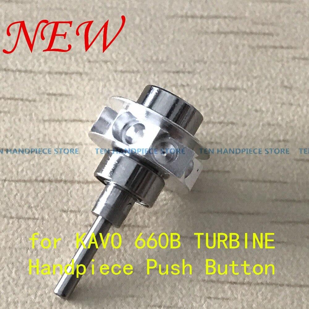 2018 GOOD QUALITY Dental Turbine Rotor Cartridge for KAVO 660B TURBINE Handpiece Push Button cartridge for dental high speed handpiece rotor kavo 659b