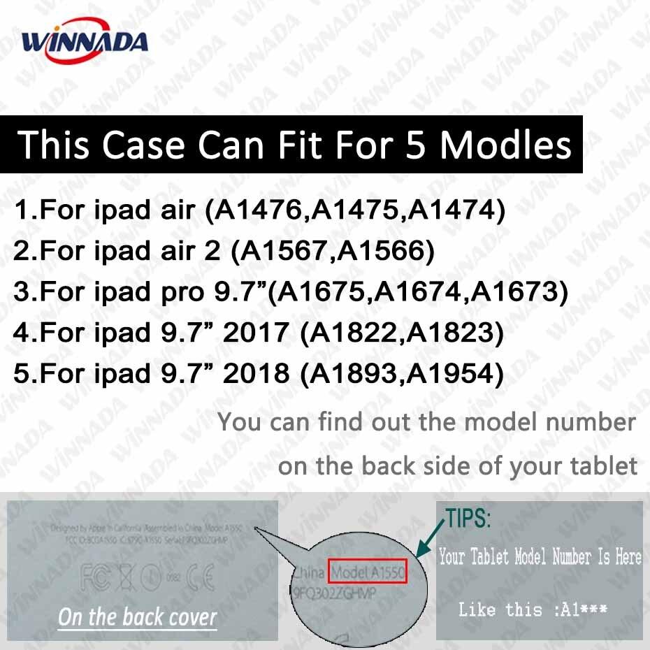 Ipad air үшін ауа / Air 2 / ipad pro 9.7 көбелектің - Планшеттік керек-жарақтар - фото 2