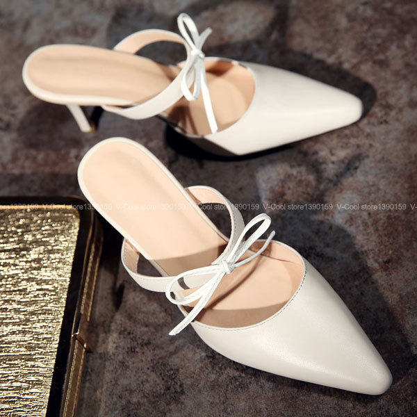 ФОТО 2017 New Summer Fashion Women Dress High Heels Genuine Leather Elegant High Heel Shoes Woman Dress Pumps Zapatos Mujer Tacon