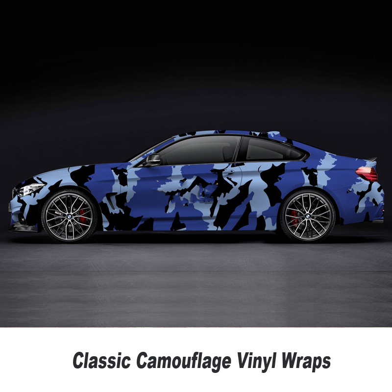 Real Effect Camouflage Vinyl Wrap Car Wrap Camo Covering Sticker