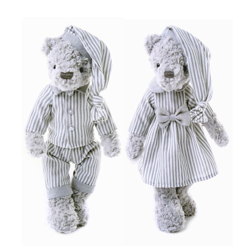 30cm Bear Doll Stuffed & Plush Animals Toy Plush Animals Soft Baby Kids Toys For Girls Children Boys Birthday Gift Kawaii Toys