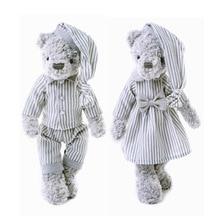 30 см медведь кукла плюшевые животные плюшевые игрушечные животные мягкие детские игрушки для девочек, детские футболки для мальчиков, пода...