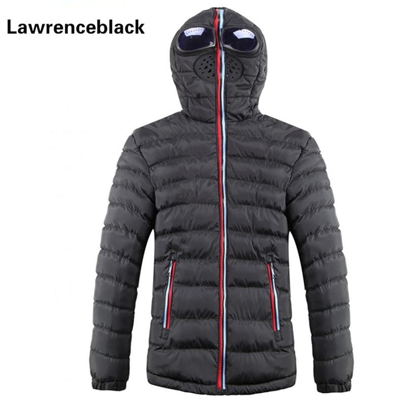 2017 új márka téli kabát férfi meleg le paplan kabát üveges - Férfi ruházat