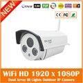 Hd Wi-Fi Ip-камера 2.0mp Беспроводной Onvif Водонепроницаемые Главная Cmos Видеонаблюдения Motion Detect Webcam Freeshipping Горячей