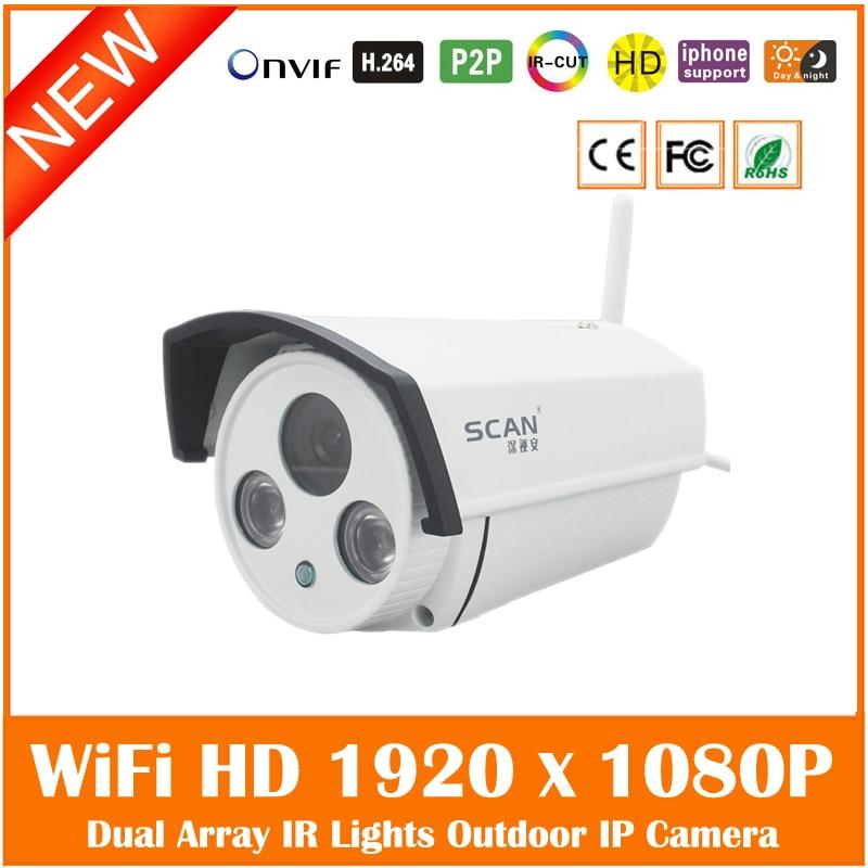 ФОТО Hd Wifi Ip Camera 2.0mp Wireless Onvif Waterproof Outdoor Home Cmos Cctv Surveillance Motion Detect Webcam Freeshipping Hot