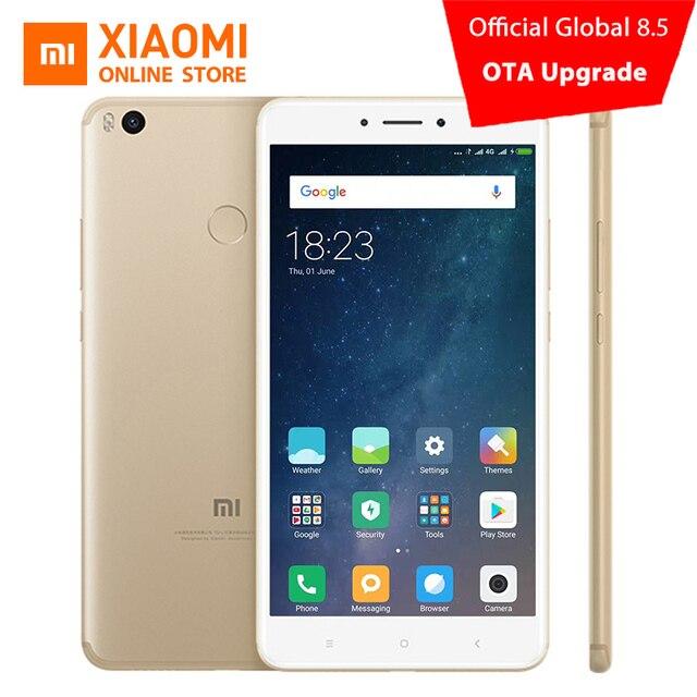 """Оригинал Сяо Mi Max 2 4 ГБ 64 ГБ смартфон 5300 мАч отпечатков пальцев ID 6.44 """"Snapdragon 625 Octa core 1080 P 12MP QC 3.0 Andriod 7.1"""