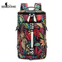 Women Hiking Backpack Men Travel Bag Army Bucket Bolso Dry And Wet Handbag for Camping Trekking Mountaineering Outdoor XA157D