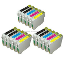 Get more info on the 15 ink T0711-T0714 compatible ink cartridge For Stylus SX215/SX218/SX400/SX405/SX405WiFi/SX410/SX415/SX510 printer