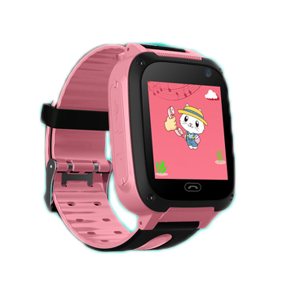 Touch Screen Children's Intelligent Telephone PositioningSmartwatch Multi-functional Kids Safe Watch Bitrthday Gifts