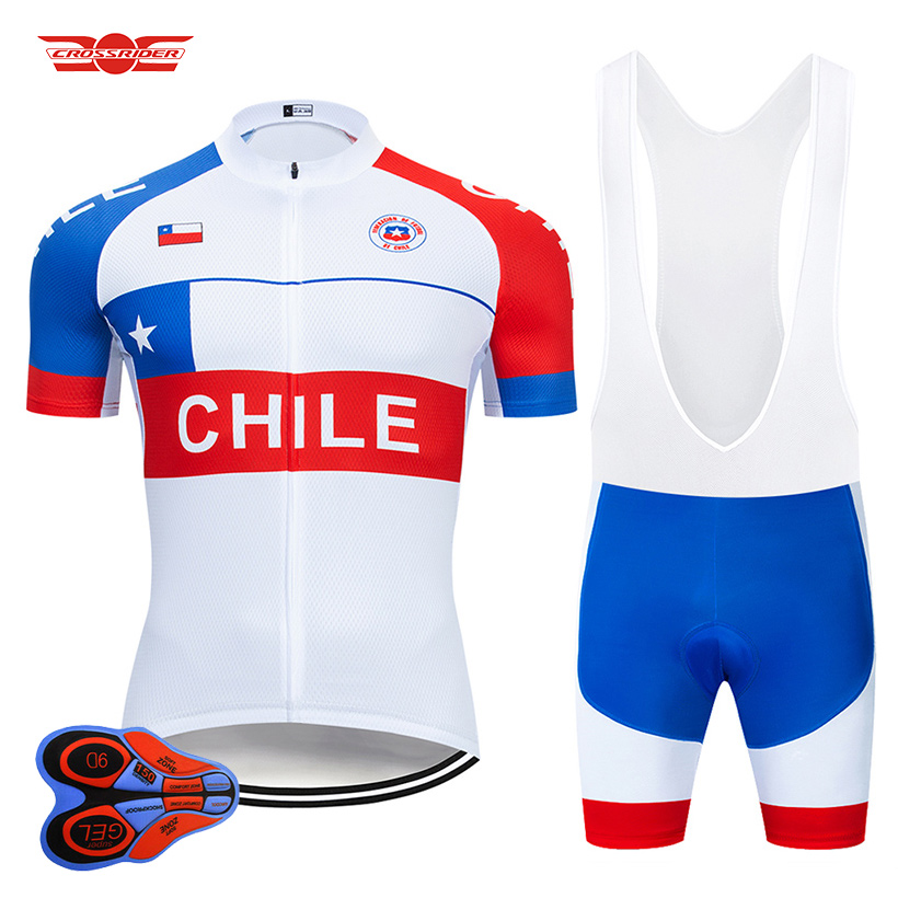 Crossrider 2020 CHILE Cycling Set MTB Bike Clothing Breathable Ropa Ciclismo Bicycle Clothes Wear Mens Short Maillot Culotte-in Cycling Sets from Sports & Entertainment on Crossrider Store