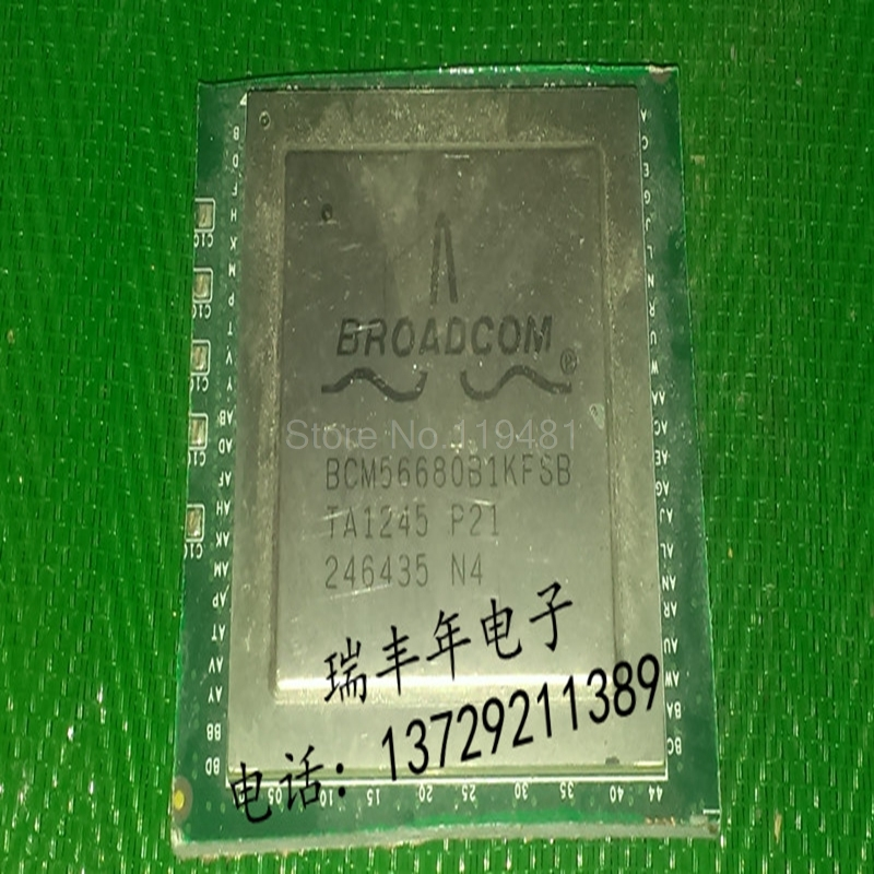 BCM56680B1KFSB Ethernet ICs SWITCH FABRICBCM56680B1KFSB Ethernet ICs SWITCH FABRIC