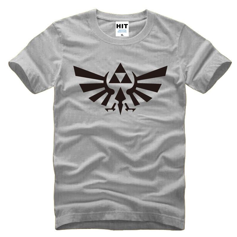 The Legend of ZELDA logo triforce juego Hombres Hombres Camiseta - Ropa de hombre - foto 2