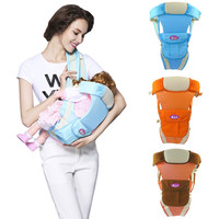 4 In 1 Infant Breathable Front Facing Carrier Comfortable Sling Backpack Pouch Wrap Multifunctional Crossbody 0