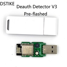 DSTIKE WiFi Deauth detector V3(Pre-flashed) with Case ESP8266 ESP12E USB  RGB LED Buzzer NodeMCU