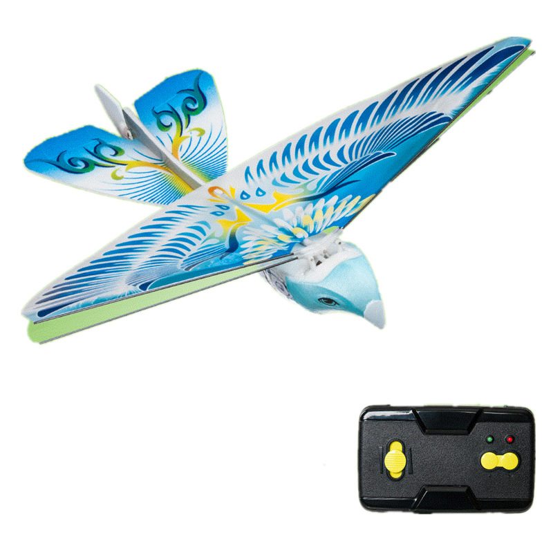 Flying Bird Toy : Remote bird toy flying simulation flapping will