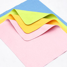 4pcs /lots mixed colour Chamois Glasses Cleaner Microfiber Cleaning Cloth For Lens Phone Screen Cloths