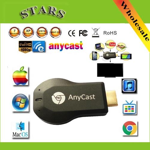 256M Anycast m2 iii ezcast miracast google chromecast hdmi 1080p tv stick font b wifi b