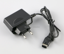 EU Plug AC Home Travel Wall Power Charger Cable Adapter for Nintendo DS Gameboy Advance GBA SP 10pcs/lot