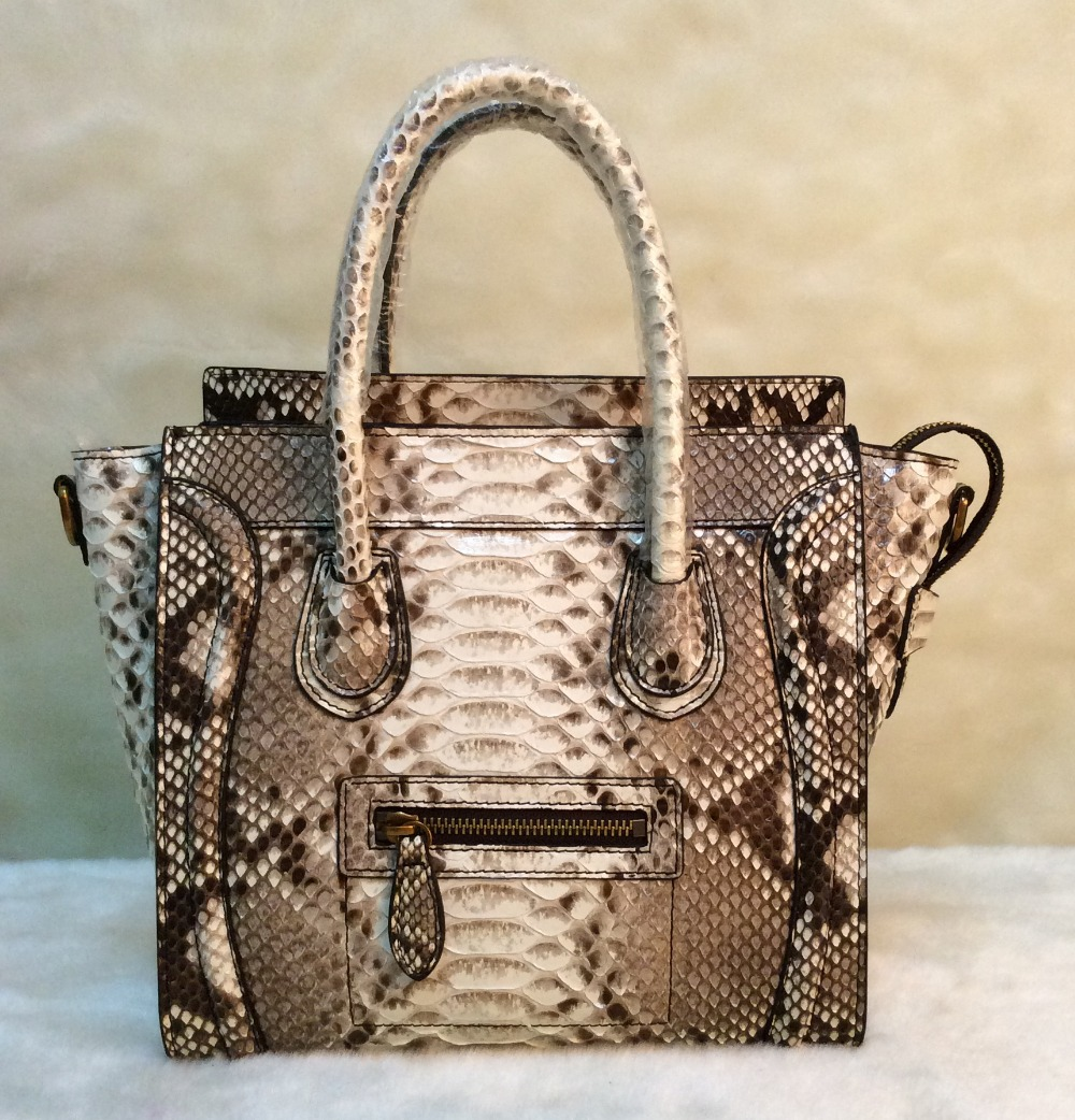 Factory Price Customized Real Python Skin Bag Jumb Nano Women Snakeskin Shoulder Messenger Free Shipping In Bags From Luggage On