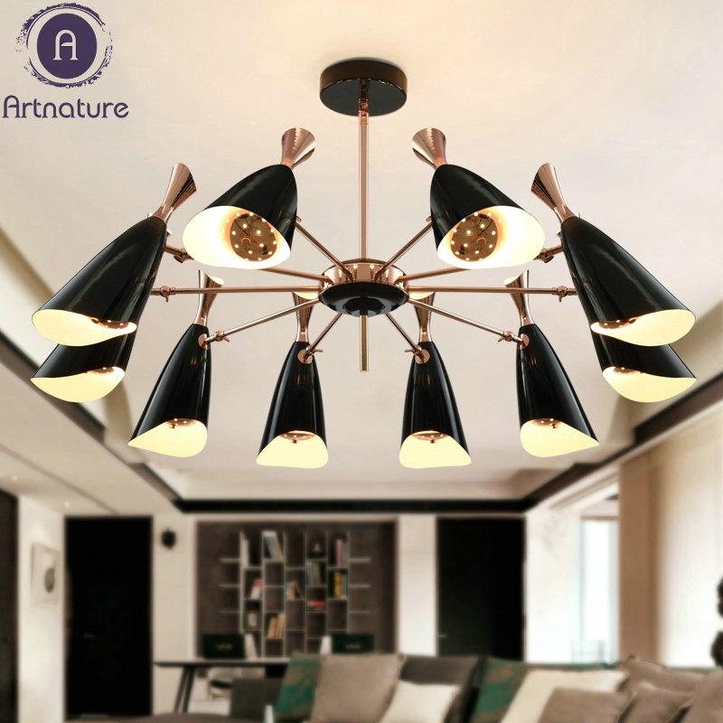 delightfull duke Nordic modern minimalist bedroom creative designer living room chandelier restaurant Villa цена и фото