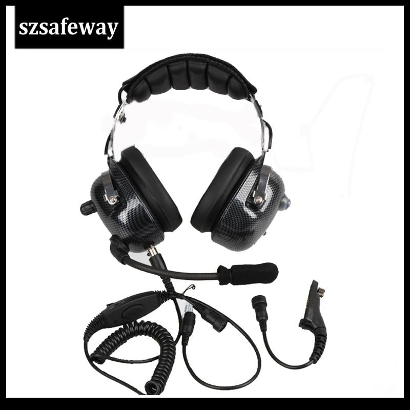 Walkie Talkie Headset Noise Cancelling Headphone For Motorola DP3400 DP4801 APX7000 XPR6500 XPR6550 XPR7550  XiR P8200