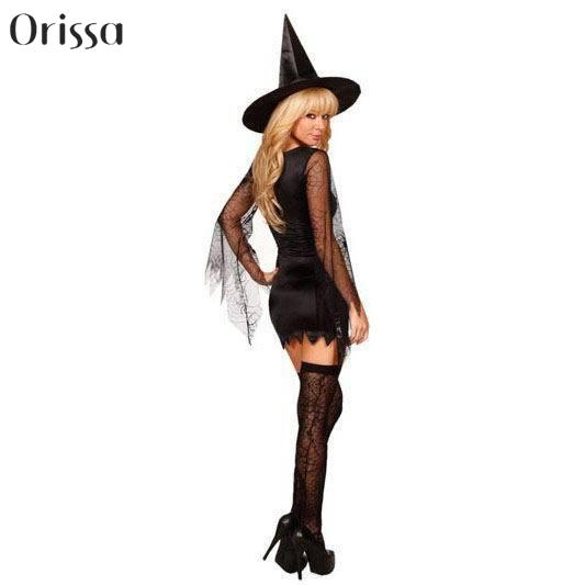 Gothic Witch Halloween Costume Sorceress Costume Adult Witch Fancy Dress Bewitching Witch Wicked Cosplay Costumes-in Sexy Costumes from Novelty u0026 Special ...  sc 1 st  AliExpress.com & Gothic Witch Halloween Costume Sorceress Costume Adult Witch Fancy ...