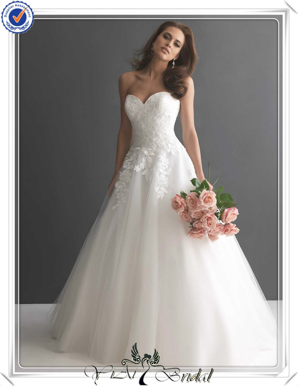 Fq0021 Sweetheart Neckline Puffy Skirt Anese Bridal Wedding Dress In Dresses From Weddings Events On Aliexpress Alibaba Group