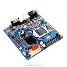 1333 de memoria de doble canal ddr3 h61 placa base, mini itx placa base, placa madre de escritorio
