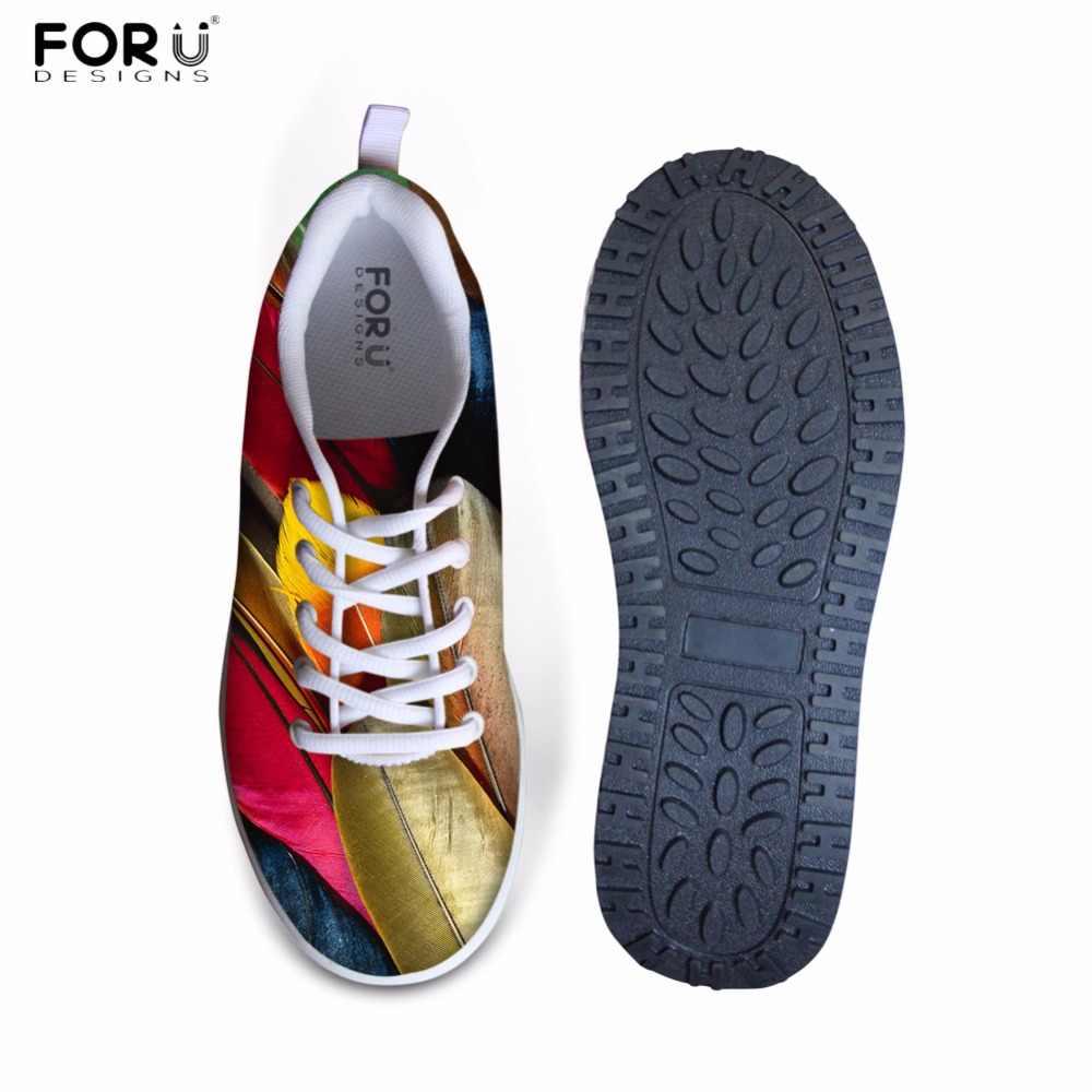 FORUDESIGNS Nhiều Màu Sắc 3D Thiết Kế Lông Giày Tăng Chiều Cao Nữ 2017 Tăng Chiều Cao Zapatos Giày cho Nữ Đế Bằng