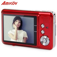 Amkov AMK CDFE Professional Camera 8mp 2.7 Inch Aluminum + plastic Support multi Language Mini Portable HD Camera Digital Camera