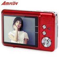 Amkov AMK CDFE Professional Camera 8mp 2.7 Inch Aluminum + plastic Support multi Language Mini Portable HD Camera Digital Camera
