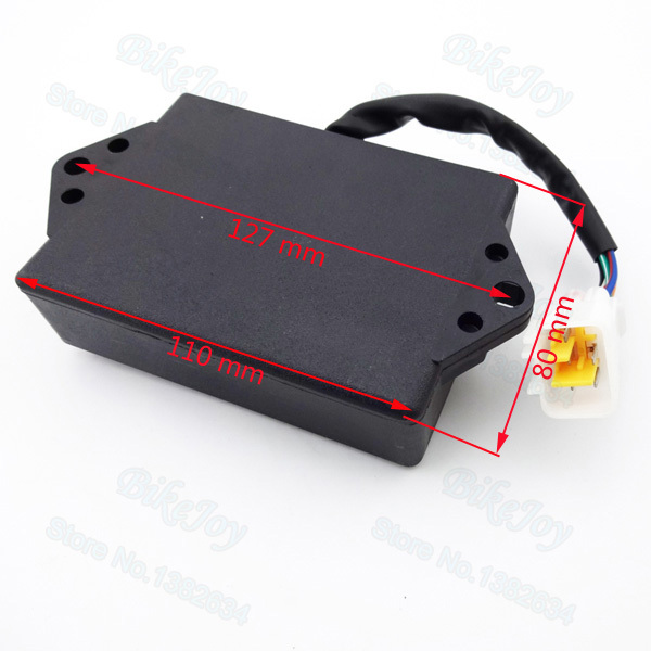 400cc 5 pin js dc cdi for 400cc pit dirt bike atv quad tao tao 125 atv wiring diagram