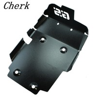 Black Motorcycle Skid Plate Bash Plate Engine Guard Motorschutz For BMW F650GS F700GS F800GS