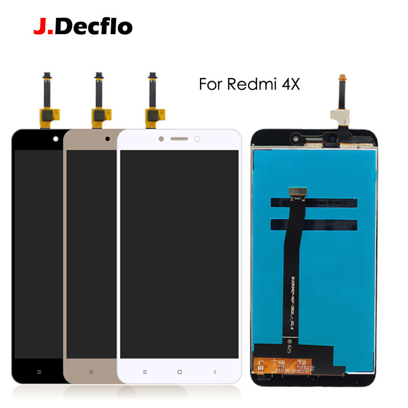 US $14 65 34% OFF|Original LCD Display For Xiaomi Redmi 4X Hongmi Touch  Screen Panel Digitizer Global Full Assembly Replacement 5 0