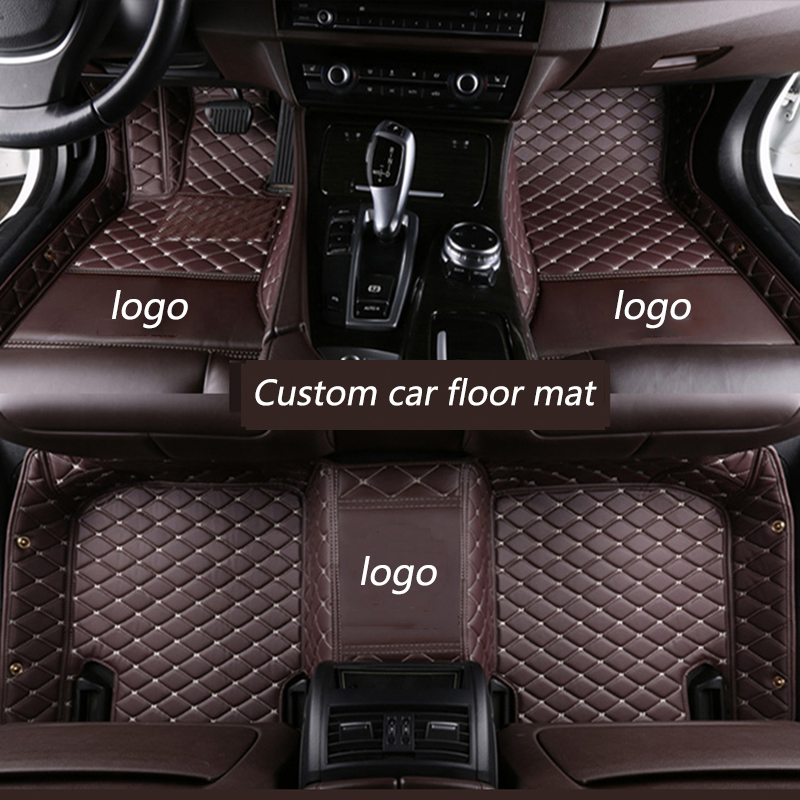kalaisike Custom car floor mats for Renault All Models captur megane scenic kadjar fluence laguna koleos