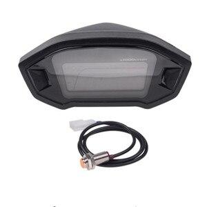 Image 4 - Compteur de vitesse 13000 tr/min numérique pour moto, universel, rétro éclairé, écran LCD, 2 4 cylindres, odomètre livraison directe