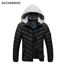 2017 FASHION new winter men cotton coat high quality men jacket Thickening warm men's clothing hooded