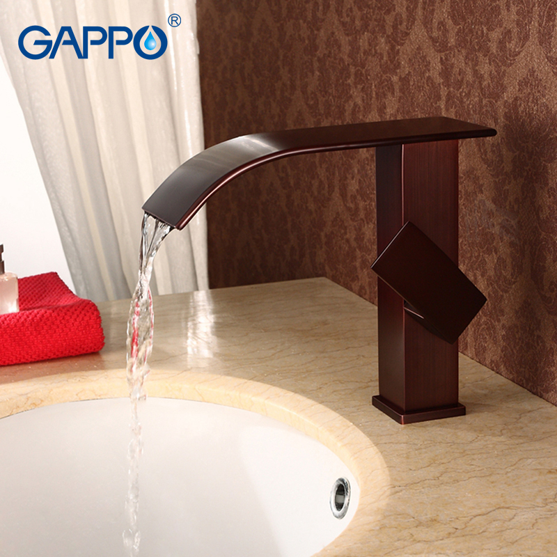 GAPPO Basin Faucet waterfall faucet shower tap Bathroom Sink Faucets bathroom deck mount water mixer taps china sanitary ware chrome wall mount thermostatic water tap water saver thermostatic shower faucet