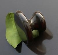 Traditional natural Bian Needle therapyk bian stone mushroom shape massage tool