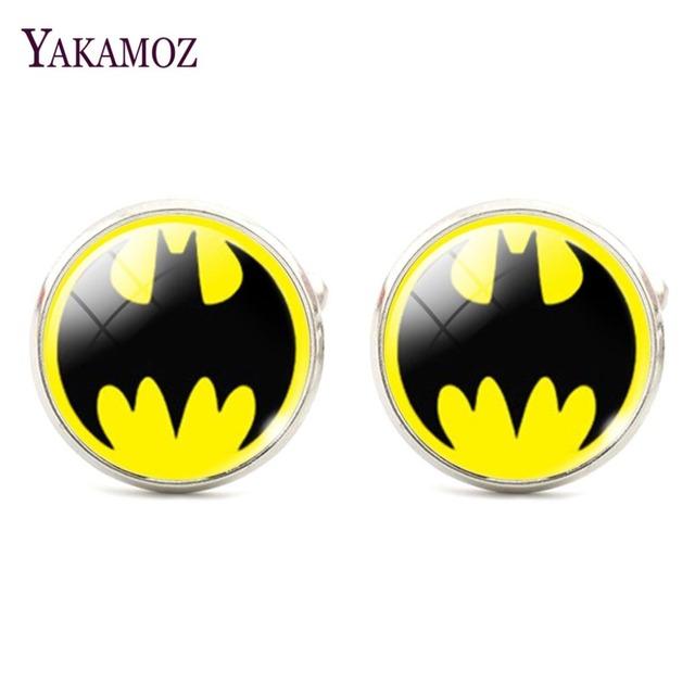 Glass Pattern Batman Cufflinks Shirt