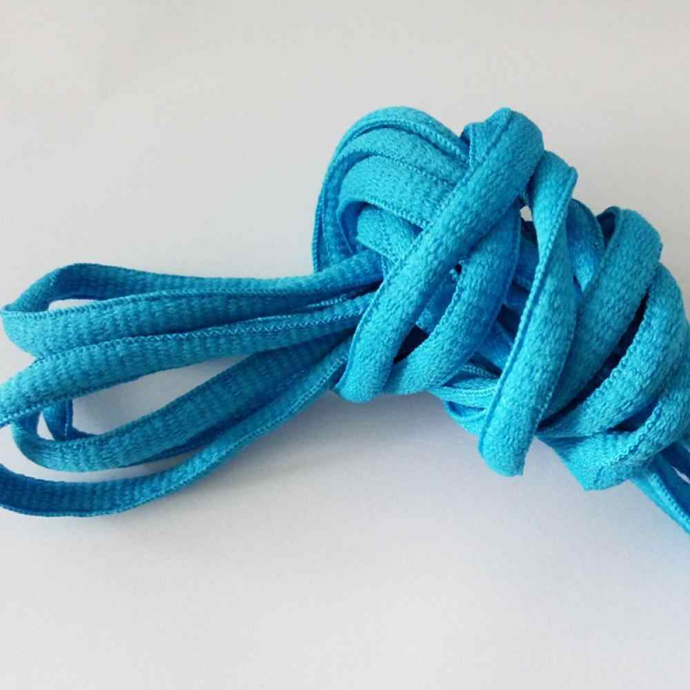21 renkler Yeni Oval 1 Pair Atletik 51 Inç Ayakabı spor ayakkabı Boots Ayakkabı Danteller Dizeleri Katı Renkler Drop Shipping
